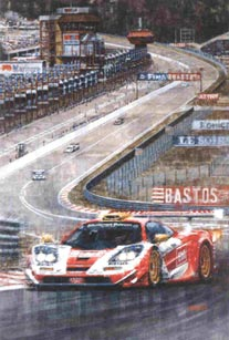 Commissioned Paintings, Commissions - Motor Racing Art