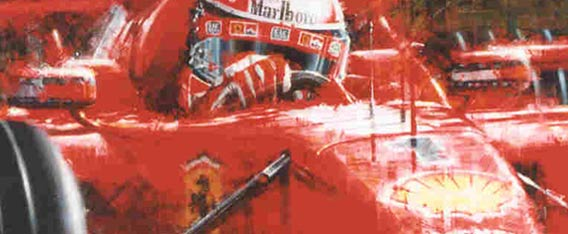 Formula 1 Art, Motor Racing Art - Planners International Events promote Motor Racing and Formula 1 art