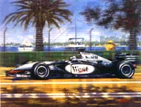 Motor Racing Art - Original Paintings, Commissioned Paintings